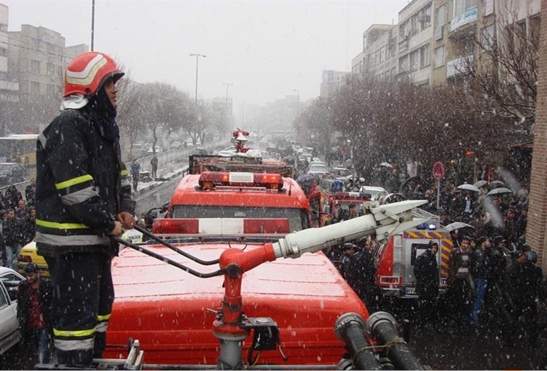 آتش سوزی بازار۱