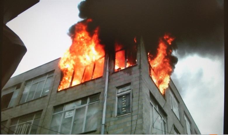 آتش سوزی بازار۴
