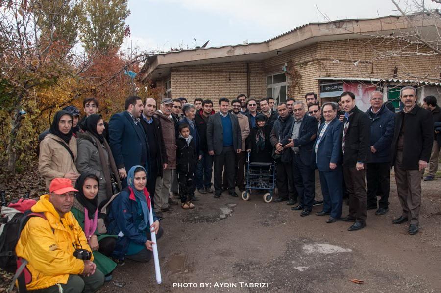 نتیجه تصویری برای آسایشگاه«بابا باغی»تبریز