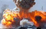 انفجار آتش ترور جنگ