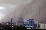 هوا توفان شهر